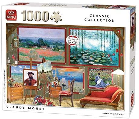 Puzzle 1000 piezas King-Claude Monet
