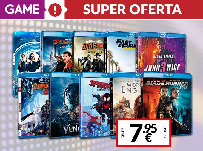 Ofertones de Cine Sony Bluray 4K Steelbooks