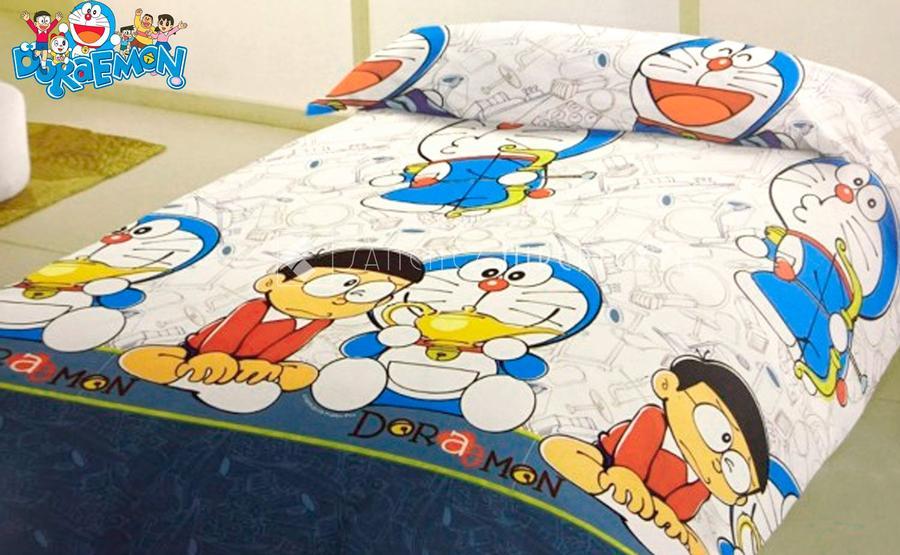 Funda nórdica + funda almohada licencia oficial cama 90 opción de Shizuka Doraemon al mismo precio