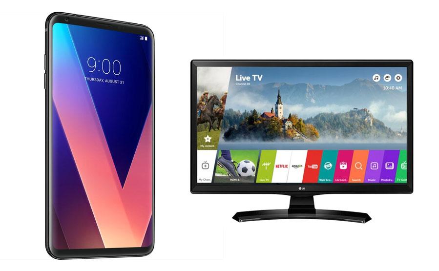 "LG V30 4GB 64GB +TV LG 28"" solo 154€"