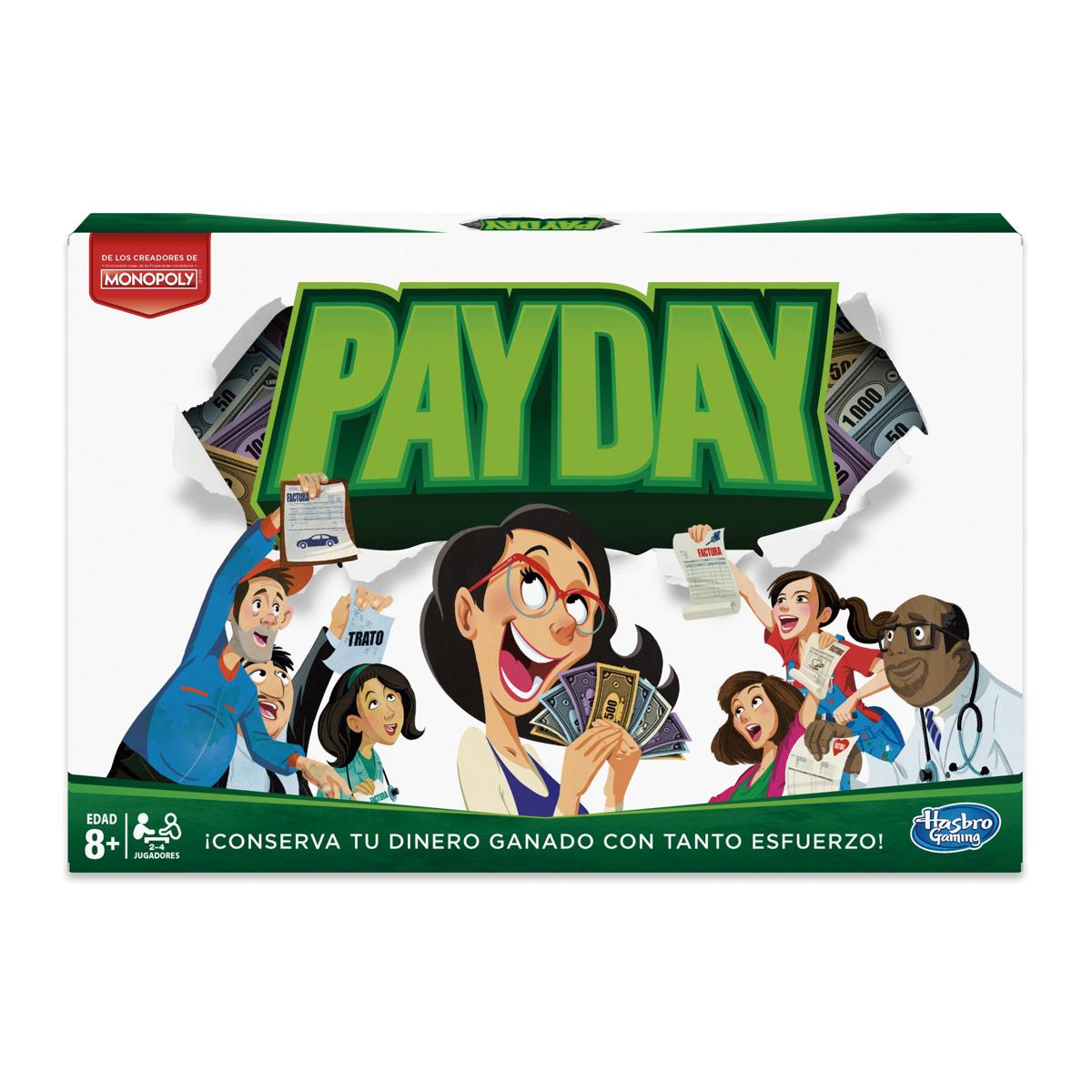 Hasbro - Payday - Juego de mesa