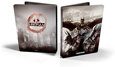 Batman: Arkham Collection - Edición Exclusiva Amazon Incluye steelbook y skin de caballero oscuro