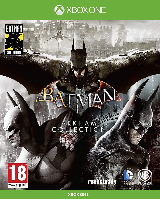 Batman: Arkham Collection - Edición Exclusiva Amazon (Incluye steelbook y skin de caballero oscuro) Xbox One