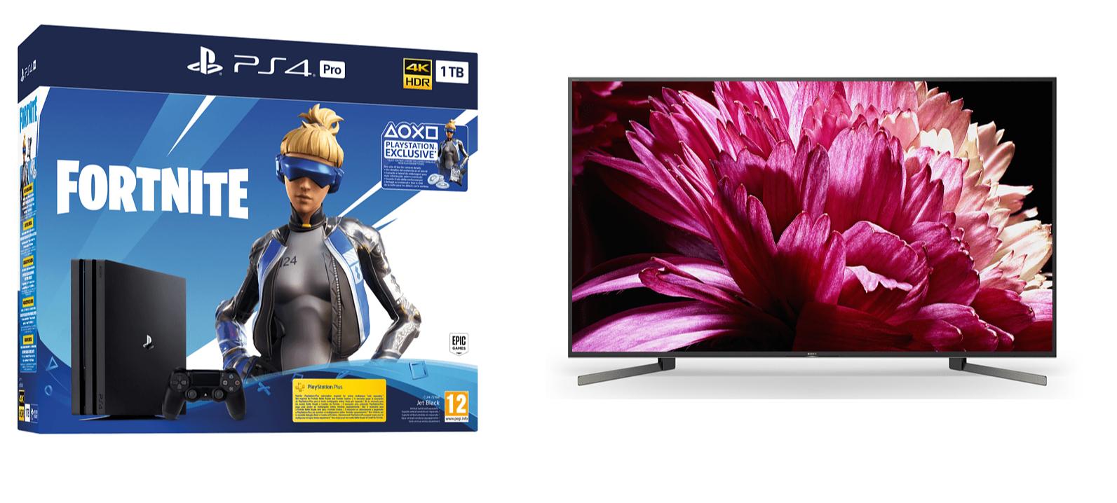 Tv Sony 55xg9505 + PS4 Pro GRATIS