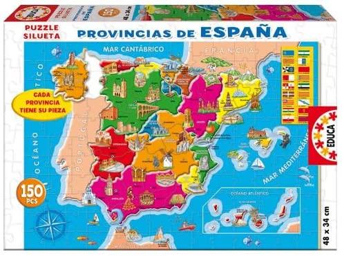 Puzzle provincias de España marca Educa (150 piezas)