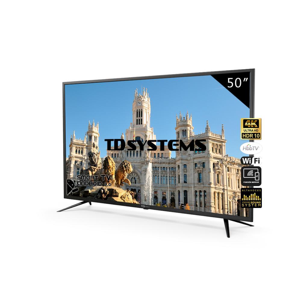 TD Systems K50DLJ10US - 50 Pulgadas 4K con Smar TV - Desde España