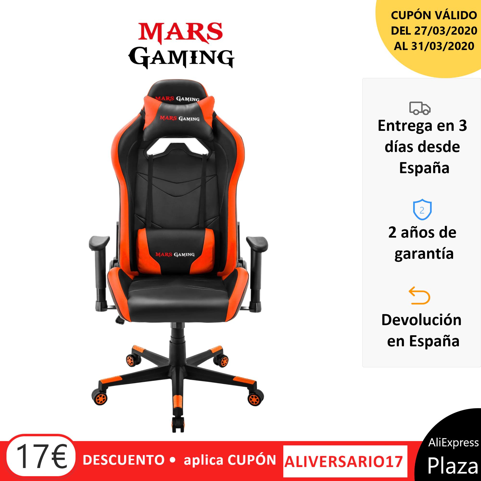 Silla Gaming Mars Gaming MGC3 desde España