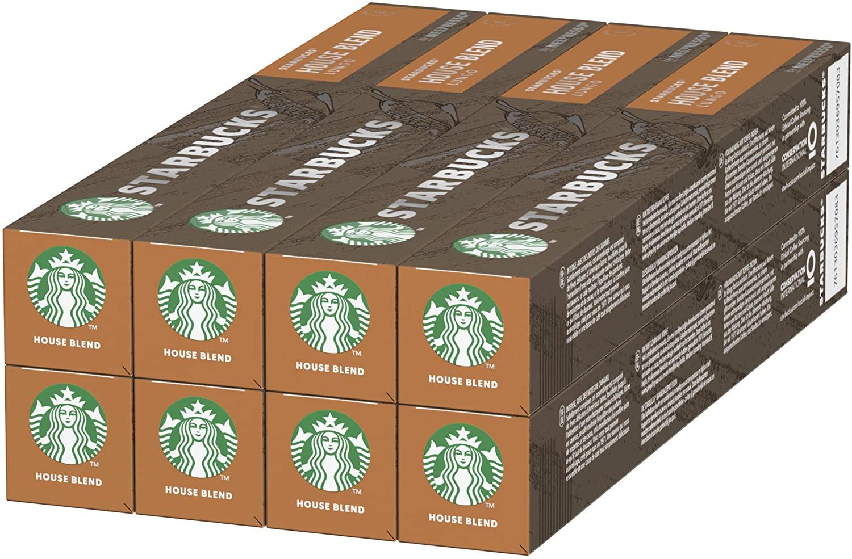 80x Cápsulas Nespresso Starbucks