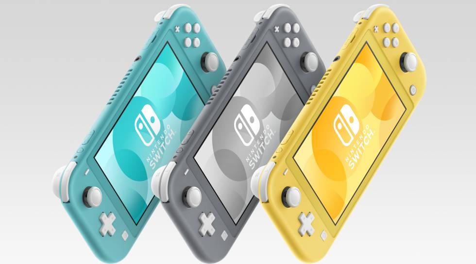 Nintendo Switch Lite Desde España + 2 años de garantía