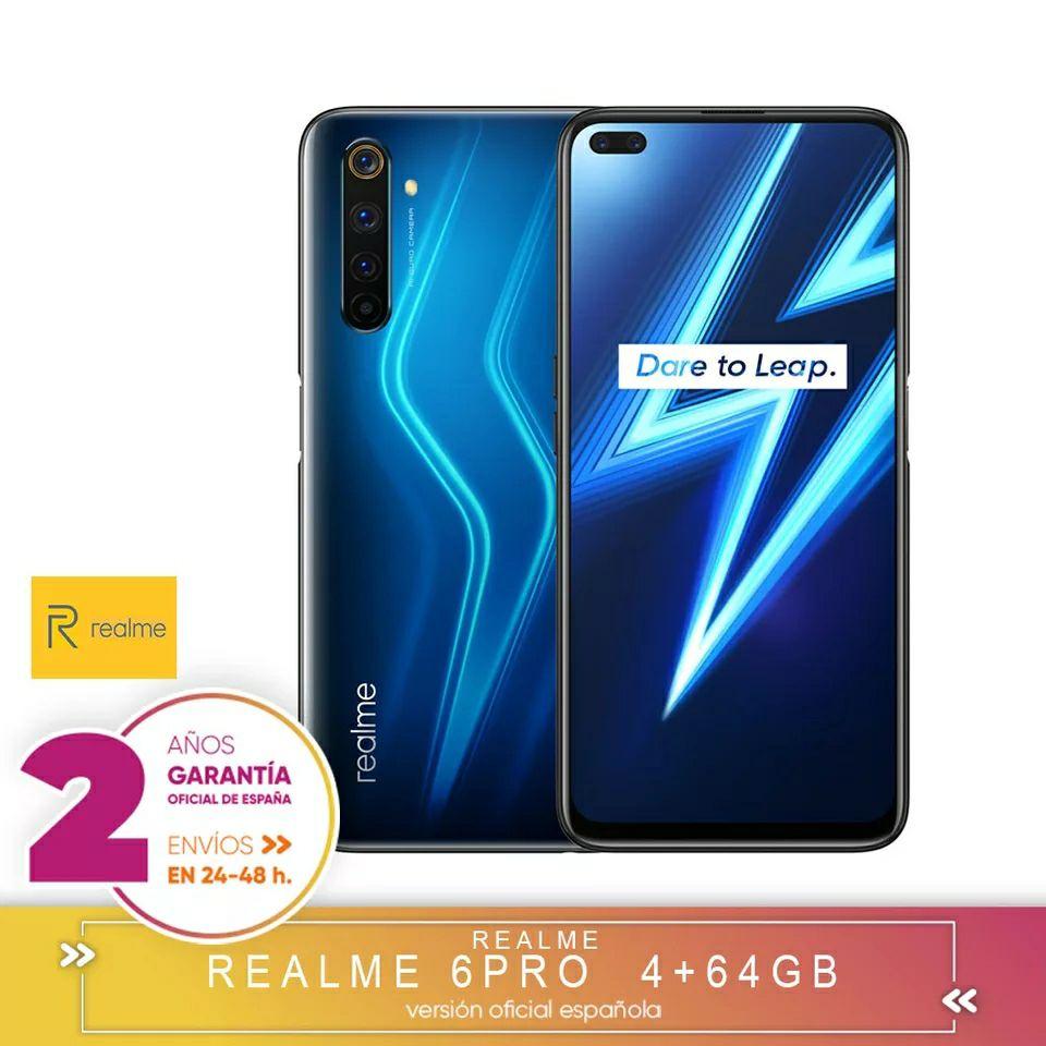 Realme 6 Pro 8/128GB SD 720G, desde España!