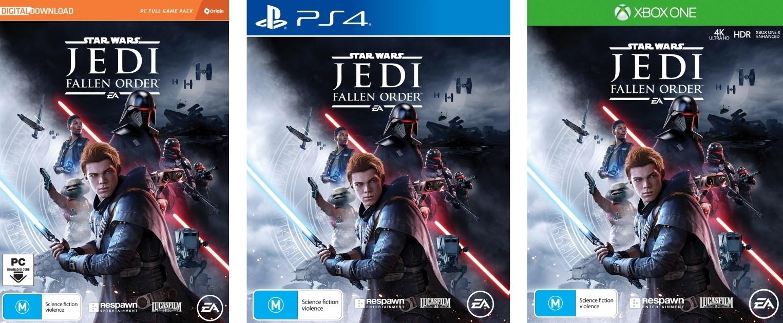 Star Wars Jedi Fallen Order - PS4/XBox/PC