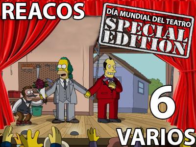 REACOS Varios 6 (Día mundial del Teatro Special EDITION)
