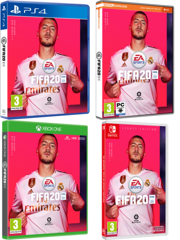 FIFA 20 en diferentes plataformas