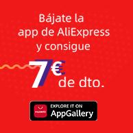 (Solo Huawei y Honor) Cupón AliExpress de 7€ por compras de 50€