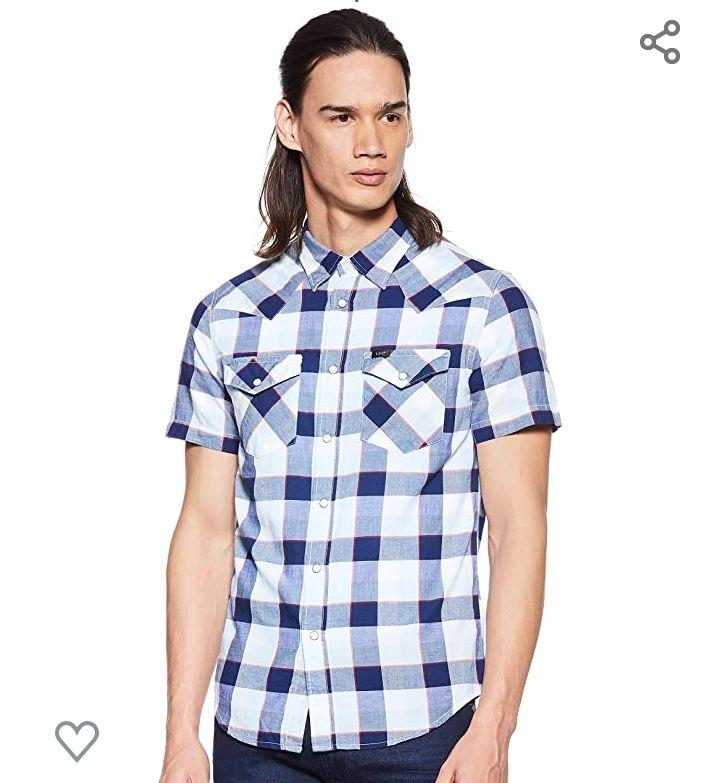 Camisa lee manga corta talla xl