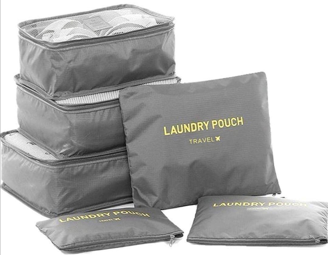 Multifunción 6 en 1 - Set Organizador de Equipaje, bolsas de Viaje resistentes al agua.