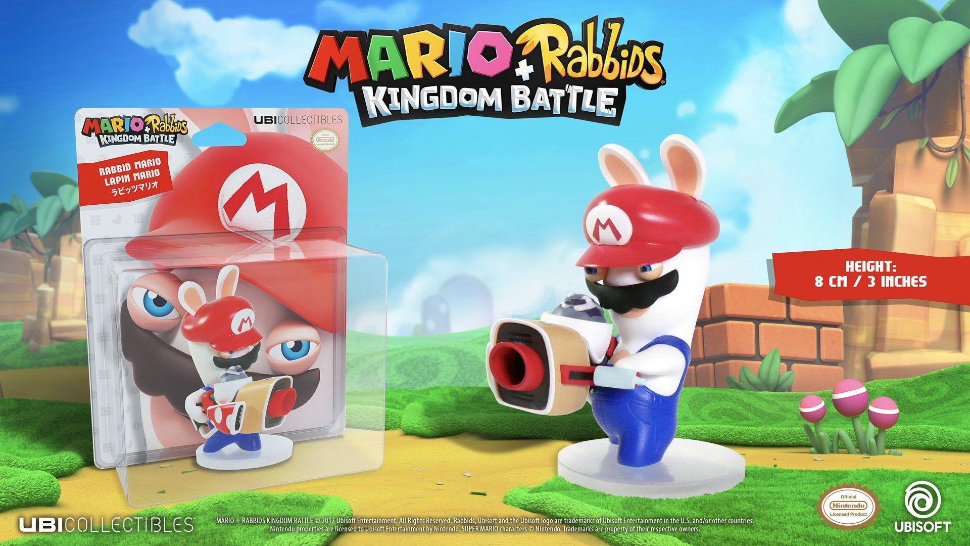 Mario + Rabbids Kingdom Battle: Rabbid Mario 3''