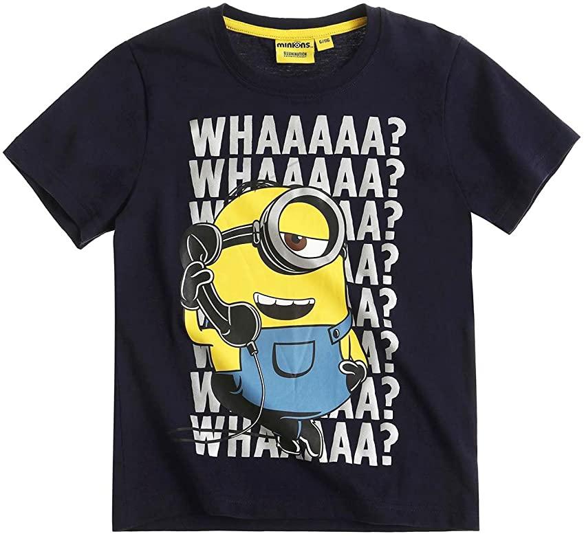 Divertida camiseta Minion niños
