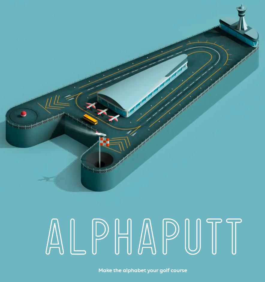 Alphaputt :: una joya visual (IOS)