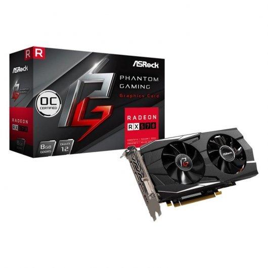 Asrock Phantom Gaming D Radeon RX570 8G OC GDDR5 + Gratis 3 meses a Xbox Game Pass PC Games con AMD