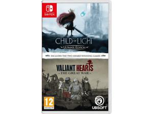 Child of light + Valiant Hearts. Nintendo Switch