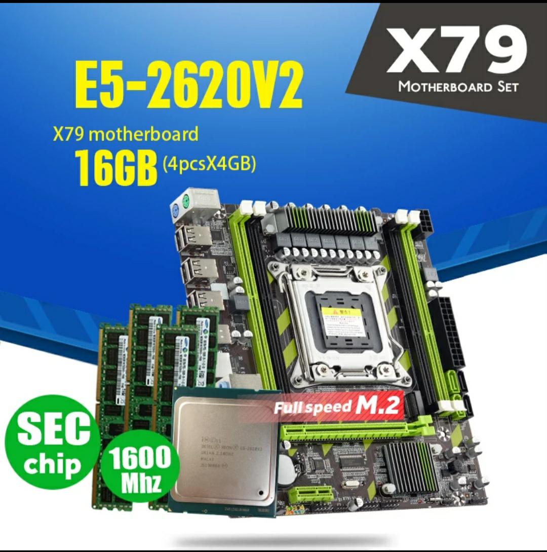 Xeon 2620 V2 + X79 + 16 Gb RAM