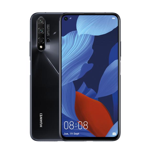 Huawei Nova 5T 128GB + 6GB Negro CORTE INGLES