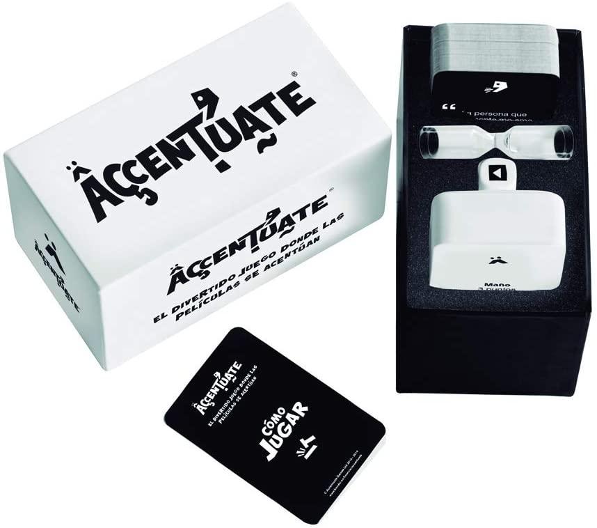 Acentúate - Juego de cartas (Bandai 93000)