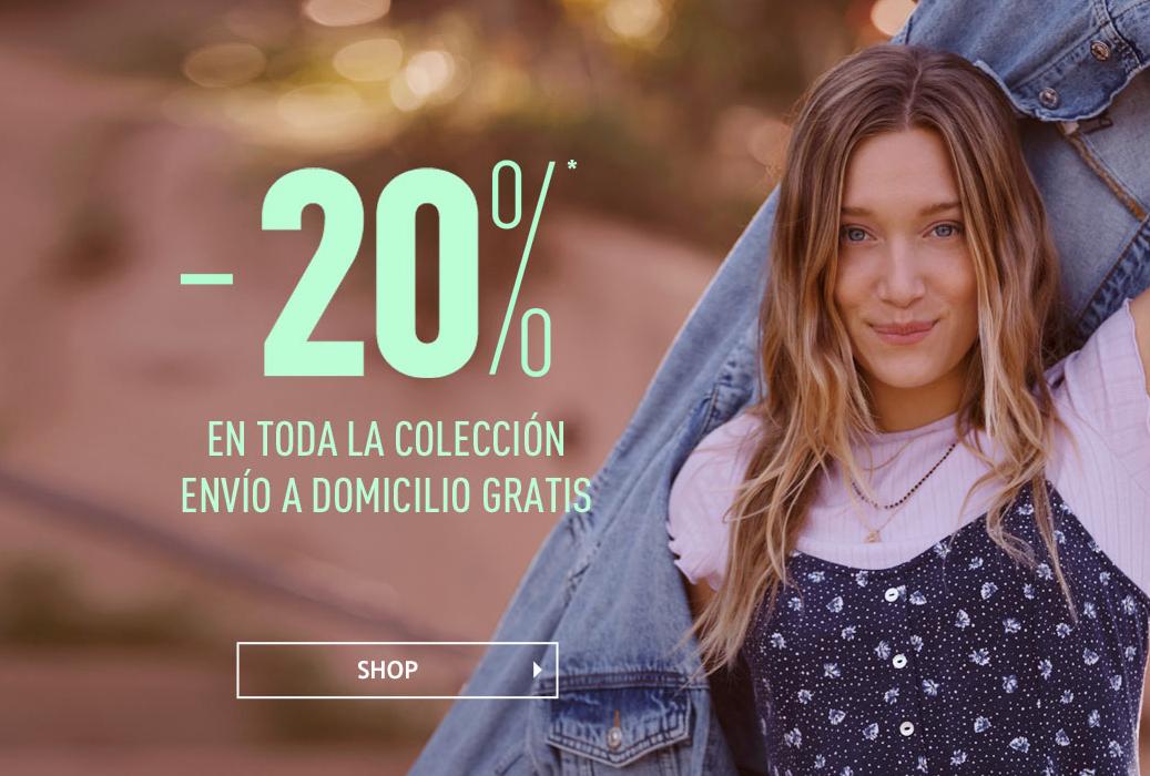 -20% en toda la colección en PIMKIE