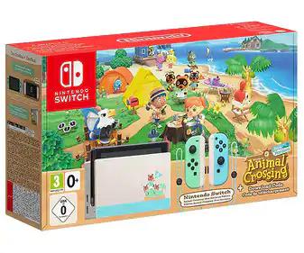 Nintendo Switch edición Animal Crossing: New Horizons (Alcampo Telde)