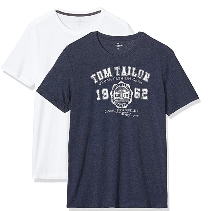 Pack 2 Camisetas Tom Tailor por 6,46€!! (más colores en la descripción)