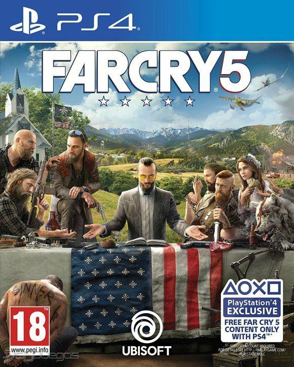 Far Cry 5 para PS4