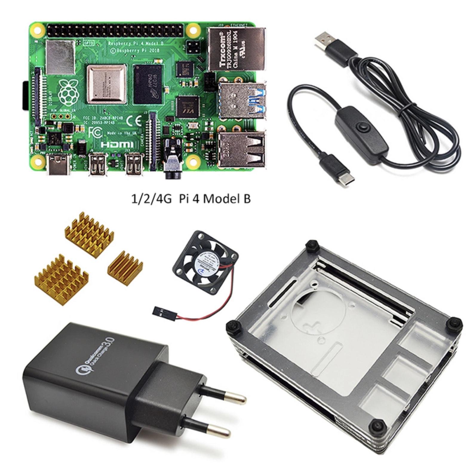 Packs Raspberry Pi 4 - 4GB