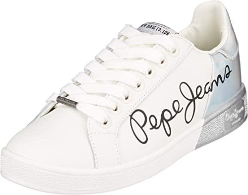 Pepe Jeans Brompton Mania, Zapatillas para Mujer talla 36.