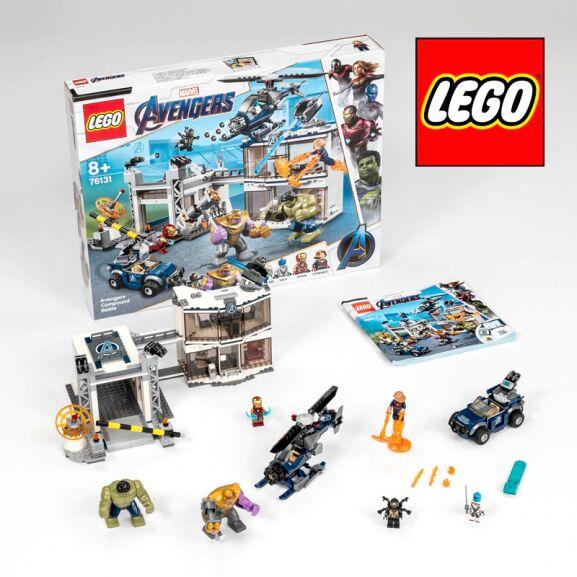 LEGO Marvel vengadores - Kit de construcción (699 piezas) con todas las figuras.