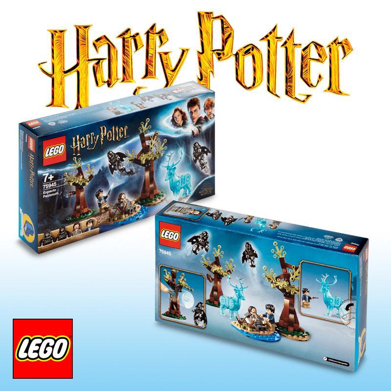 LEGO Harry Potter - Expecto Patronum, Incluye Minifiguras de Sirius Black y 2 Dementores