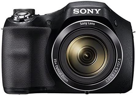 """Sony DSC-H300 - Cámara compacta de 20.1 MP (pantalla de 3"""", zoom óptico 35x (REACO, Muy bueno)"""