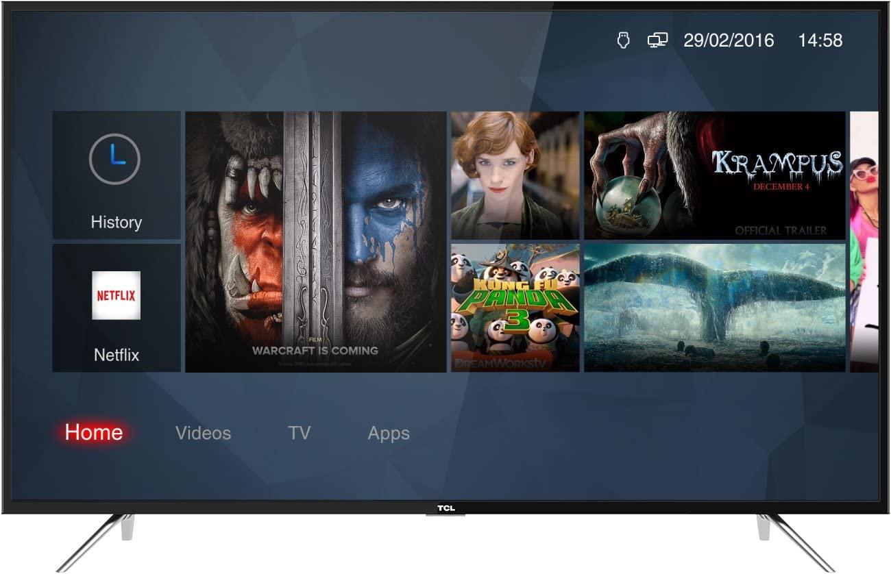 "TV LED 55"" TCL 55DP602 Smart TV UHD 4K HDR Dolby Digital Plus, A+ - Mínimo histórico."