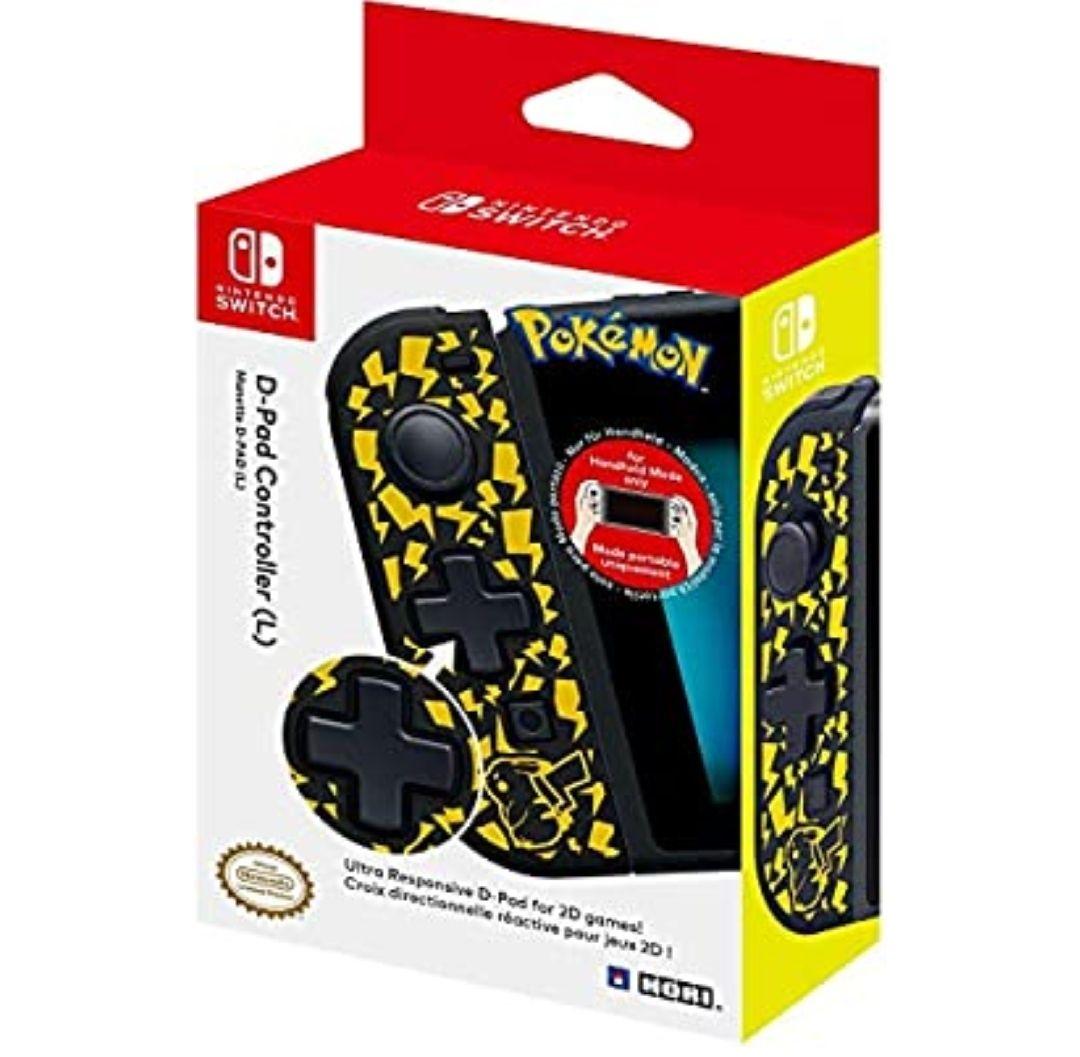 Hori - Controlador D-Pad (L) Pikachu