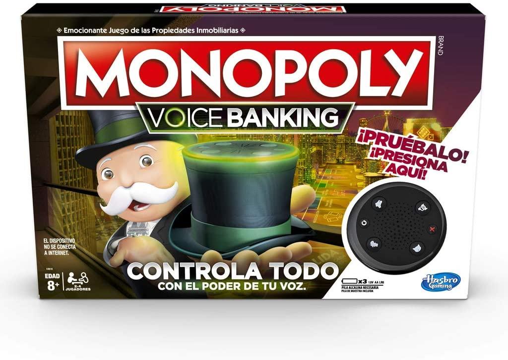 Monopoly Voice Banking Hasbro - Desde España