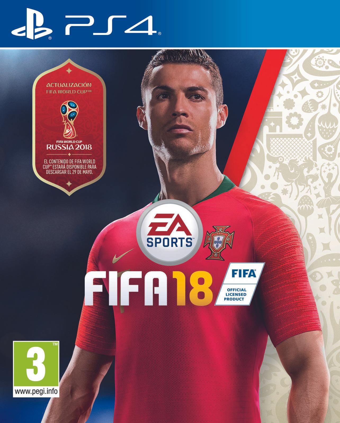 PS4 FIFA 18 solo 24,9