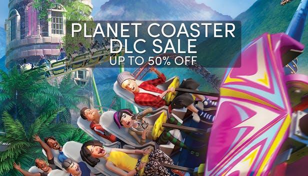 Todos los DLC de Planet Coaster en oferta