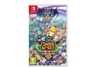 Snack World:de Mazmorra en Mazmorra. Nintendo Switch