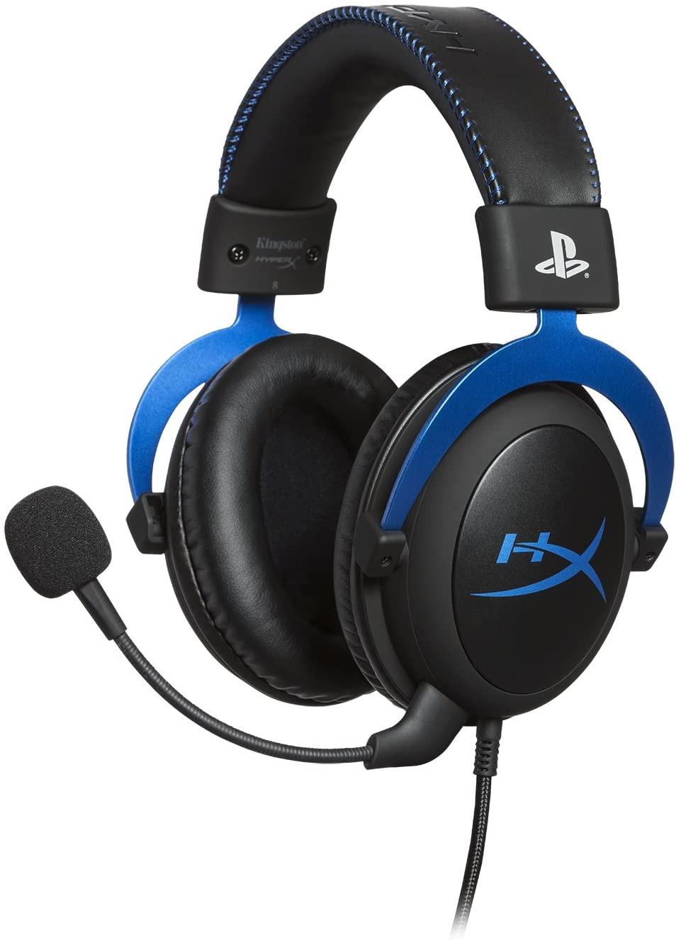 HyperX HX-HSCLS-BL Cloud para PS4 - Con Control de Audio Integrado