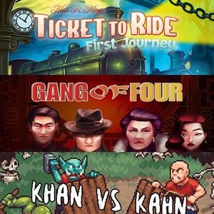 STEAM :: Quédate gratis Ticket to Ride, Khan VS Kahn, Will Glow the Wisp