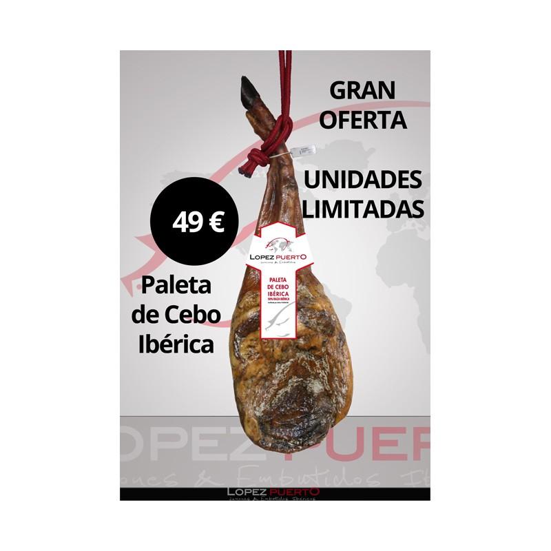 PALETA DE CEBO IBÉRICA 5,00 KG APROXIMADAMENTE