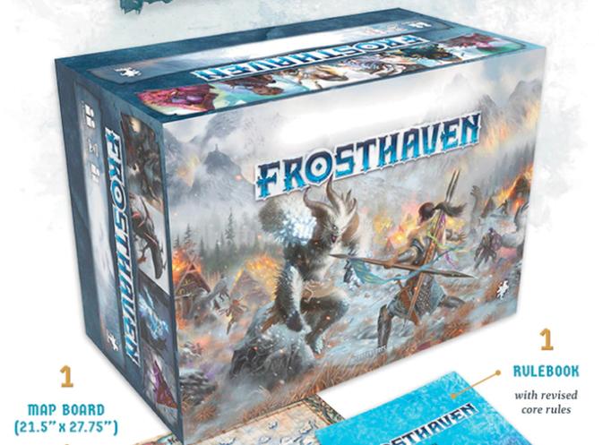 Kickstarter de Frosthaven - Secuela de Gloomhaven