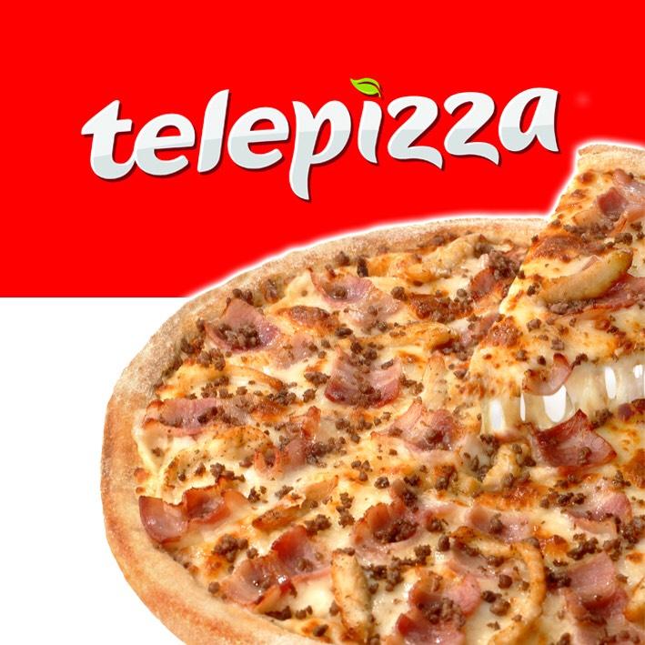 40% de descuento en Telepizza