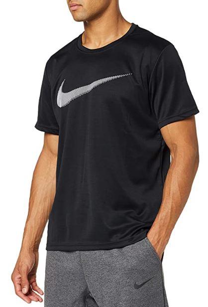 NIKE Camiseta deporte (en Negro y solo quedan S)
