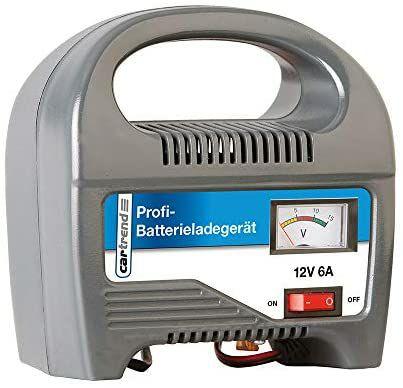 Cargador de baterías de hasta 60Ah Unitec 6A